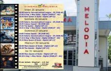 """Vezi ce filme vor rula la Cinema """"MELODIA"""" Dorohoi, în săptămâna 25 - 31 ianuarie – FOTO"""