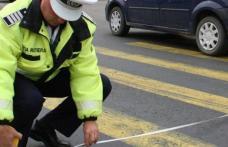 Tânără accidentată pe trecerea de pietoni. Un șofer neatent nu a redus la timp viteza înainte de trecerea marcată