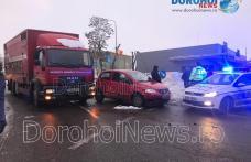 Accident cu patru victime la Dorohoi! Impact între un autocamion și două autoturisme – FOTO