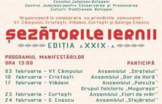 """""""Șezătorile iernii"""" manifestare culturală de tradiţie în județul Botoșani ajunsă la ediția a XXIX-a"""