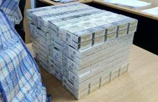 Tigări de contrabandă, ascunse în bagaje, confiscate la frontieră