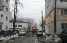 Incendiu la un apartament din Botoșani. O fată de 14 ani era să ardă de vie în timp ce dormea - FOTO