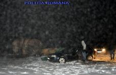 Poliția la pândă în zona oraşului Săveni, pentru prinderea contrabandiștilor de țigări - FOTO