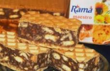 Prăjitură delicioasă cu ciocolată