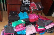 Produse contrafăcute confiscate de polițiști direct din magazine