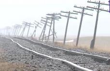 Situația dramatică în care a ajuns calea ferată de pe tronsonul Dorohoi - Iași - VIDEO