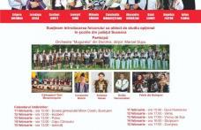 """Spectacole acompaniate de Orchestra """"Mugurelul"""" Dorohoi în cadrul Proiectului  """"10 pentru folclor"""""""