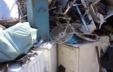 Comercianți de fier vechi amendați cu 5.000 de lei de polițiștii din Corlăteni