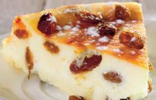 Budincă cu brânză de vaci
