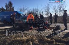 Accident la Brăești! Două persoane rămase încarcerate după impactul dintre o autoutilitară și un autoturism – VIDEO / FOTO