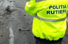 Un șofer în stare de ebrietate s-a ales cu dosar penal după ce a lovit două mașini oprite la trecerea de pietoni