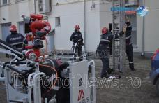 Incendiu la sediul BCR Dorohoi: Exercițiu de amploare a pompierilor – VIDEO / FOTO