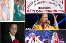 """Vezi programul complet al Festivalului Național de Muzică Ușoară Românească """"Mărțișor Dorohoian"""" 2019"""