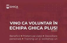 """Fi și tu voluntar! Asociația """"Ghica Plus"""" își mărește echipa. Vă așteptăm în echipa noastră!"""