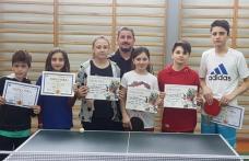 Elevii Școlii Cornerstone Dorohoi premiați la Olimpiada Gimnaziilor la tenis de masă - FOTO