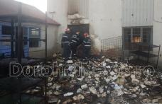 A fost identificat autorul incendiului de la arhiva unei societăți din Dorohoi. Individul a dat și o spargere la un magazin din apropiere!