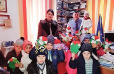 Mărțișoare și zâmbete de copii la Primăria comunei Ibănești - FOTO