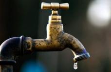 Faceți-vă rezerve de apă! Miercuri și joi nu va curge apă la robinete. Vezi zonele afectate!