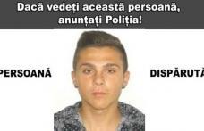 Un tânăr cu afecţiuni psihice, dat dispărut. Băiatul a fost văzut ultima dată pe 7 martie