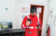 Realitatea virtuală – Un nou mod de învăţare pentru specialiştii Delgaz Grid