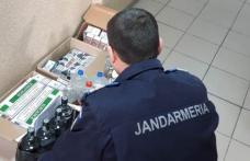 Acțiuni ale jandarmilor în piețe