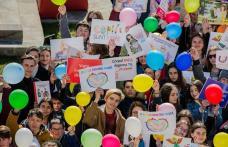 UNIC DIN PRIMA SECUNDĂ! - Marșul pentru viață în parcul Cholet din Dorohoi - FOTO
