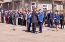 Ziua Jandarmeriei Române sărbătorită la Botoșani. Jandarm dorohoian avansat în grad