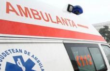 Doi minori de 3 și 5 ani din Dorohoi răniți într-un accident produs chiar de mama lor