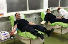 Jandarmii botoșăneni au donat sânge - FOTO