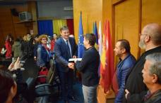 Vizită a echipei de proiect Erasmus+ la Instituţia Prefectului Botoşani - FOTO