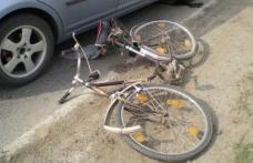 Biciclist accidentat pe strada A.I. Cuza din Dorohoi. Șoferul a părăsit locul accidentului