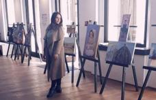 Lucrări realizate în cadrul taberei de pictură de la Dorohoi expuse la București - FOTO