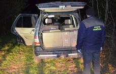 Aproximativ 7.000 de pachete de țigări și un autoturism, confiscate de poliţiştii de frontieră - FOTO