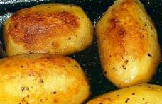 Cartofi fondanți - rumeni și cremoși