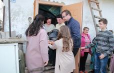 Activitate filantropică derulată de elevii Liceului Teoretic Lipcani și cei a Școlii Gimnaziale nr. 1 Rădăuți-Prut - FOTO