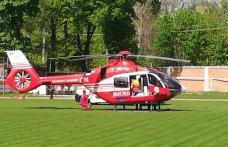 Tânăr de 21 de ani preluat de urgență cu elicopterul SMURD de la Dorohoi - FOTO