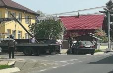 Accident! O femeie din Dorohoi și cei trei copii ai săi au fost răniți