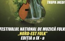 """Festivalul Concurs Național de Muzică Folk """"Nord-Est Folk"""" în această săptămână la Dorohoi"""