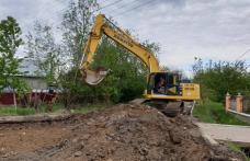 Primăria Municipiului Dorohoi anunță că au fost demarate lucrările pentru modernizarea străzii Horia - FOTO