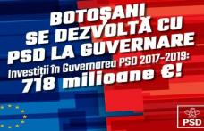"""PSD Botoșani: """"Pentru noi fiecare botoșănean contează"""""""
