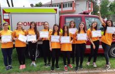 """Școala Gimnazială """"Mihail Sadoveanu"""" DUMBRĂVIȚA premiată la Concursul """"Prietenii Pompierilor"""" - FOTO"""
