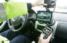Radarul polițiștilor dat peste cap de un tânăr din Brăești prins cu peste 140 km/h