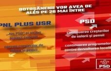 """Botoșănenii au de ales între continuarea majorărilor de venituri și investiții începute de PSD și proiectul """"JOS PSD"""" al PNL"""