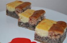 Prăjitură în trei culori