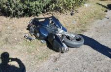 Mopedist cu dosar penal pentru că a condus beat și fără permis un moped apoi a produs un accident rutier
