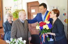 Centenar sărbătorit în Biblioteca de la Vlăsineşti - FOTO
