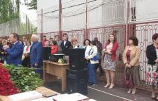 "Liceul ""Regina Maria"" Dorohoi - promoția 2015-2019 la absolvire"