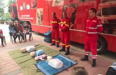 """Caravana SMURD """"Fii pregătit!"""" a fost la Dorohoi - FOTO"""