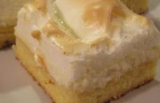 Prăjitură cu brânză și bezea