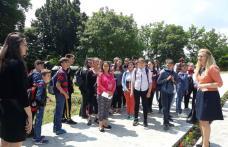 """Ziua Eroilor la Școala Gimnazială """"Gheorghe Coman"""" din Brăești - FOTO"""
